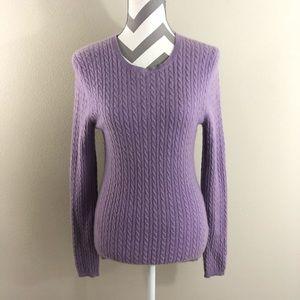 Anne Klein Sport Cashmere Sweater M EUC